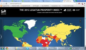 The 2012 Legatum Prosperity Index