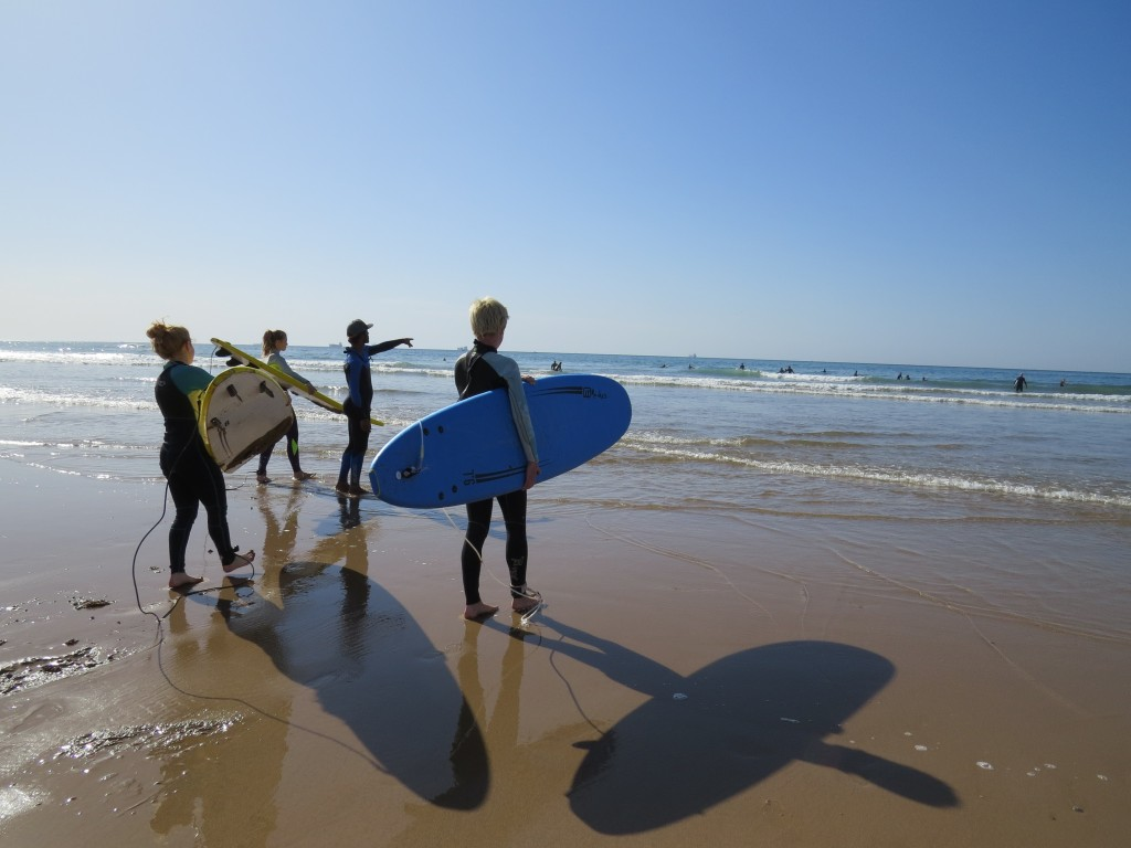 surfing, Taghazout, Maroko, Holly Cow
