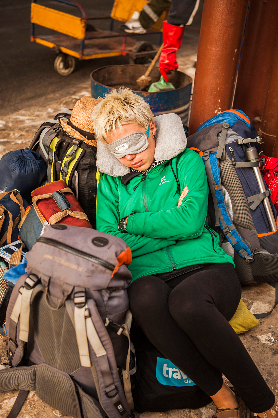 Martyna Skura. lifein20kg. African Road Trip, HollyCow