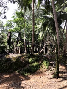 Ross Island, Port Blair, Andamany, Indie