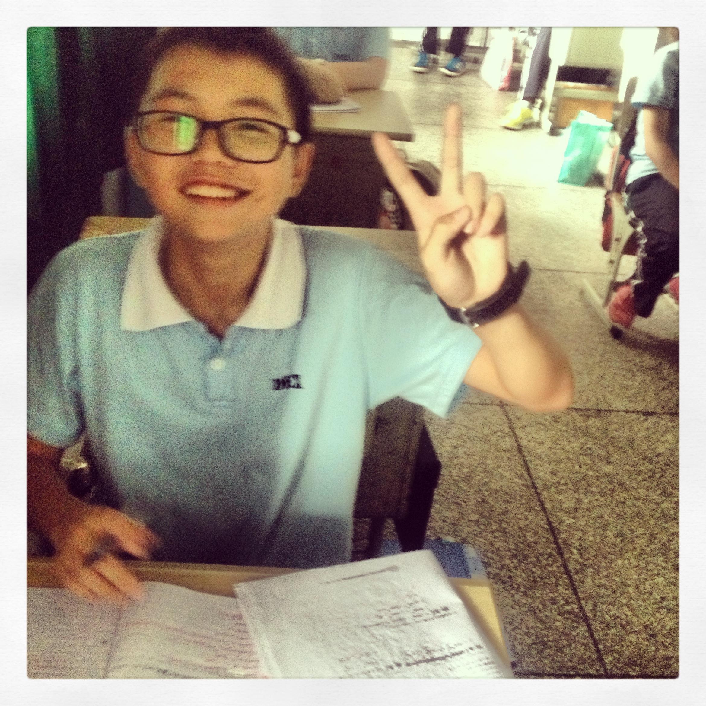 Keven - jeden z najzdolniejszych uczniów.