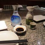 Teppanyaki i sake