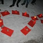 Jak akhaltsikhska młodzież uświadamiała swoich rówieśników nt. AIDS.
