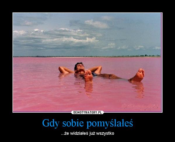 demotywatory, Senegal, różowe jezioro