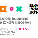 Blog Roku 2014 – Głosujemy! Let the game start!