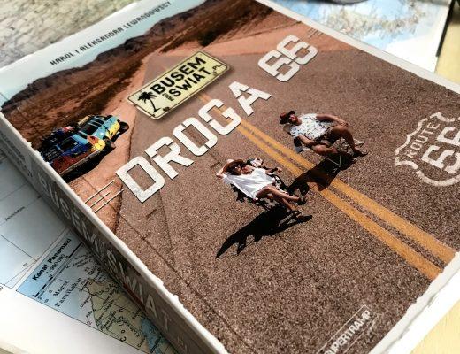 """Busem przez świat """"Droga 66"""" recenzja książki"""