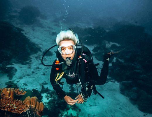 Martyna Skura, nurkowanie na Malediwach
